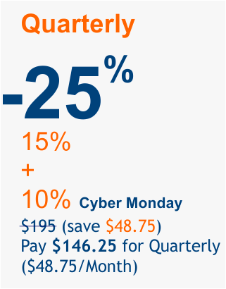 Cyber-Monday-2018 offer 25%