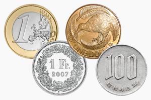 New Zealand Dollar vs Japanese yen, New Zealand Dollar vs Swiss Francand Euro vs Swiss Franc