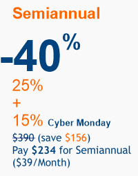 Cyber Monday 2020 offer 40%