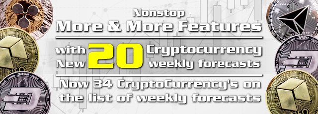 More profitable weekly forecasts with the New Cryptocurrency's Chart